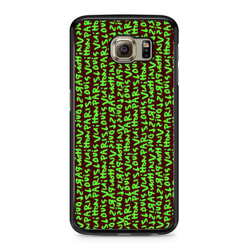 Louis Vuitton Stephen Sprouse Greeb Samsung Galaxy S6 Case