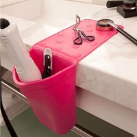 Hot Iron Holster in Bathroom