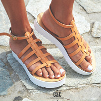 Leather women natural Sandal shoes, Gladiator sandals, leather shoes