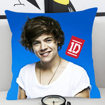Harry Styles 1D - Pillow Cover by PillowKesetiaan.