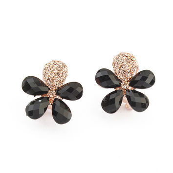 Floral Earrings [4919094788]