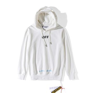 qiyif Off-White  Care Of Off White  Hoodie