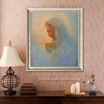 Jesus Christ Jesus Canvas Posters and Prints Wall Art Pictures for living room Home Decor cuadros decoracion Oil painting 98