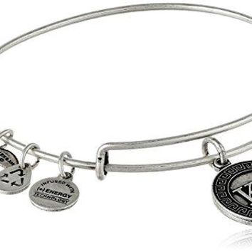 Alex and Ani Sorority Kappa Delta Expandable Wire Bangle Bracelet