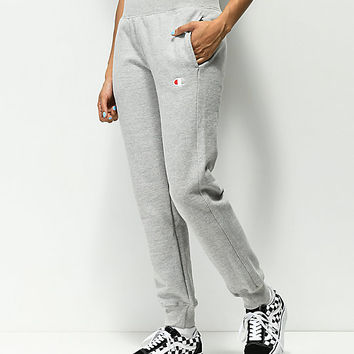 Champion Reverse Weave Oxford Grey Jogger Sweatpants | Zumiez