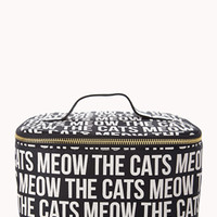 Cats Meow Makeup Train Case
