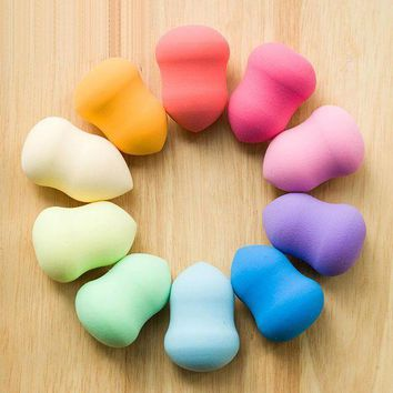 PEAPNQ2 Water Droplets Shape Beauty Makeup Sponge