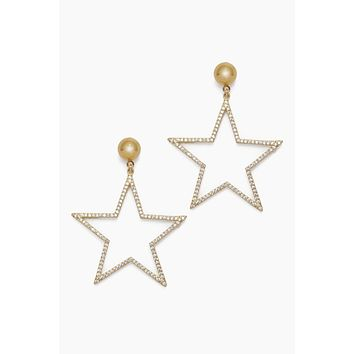 Shining Star Earrings - Gold Plated