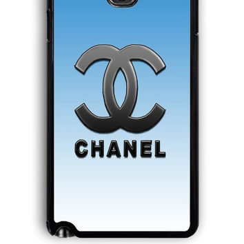 Samsung Galaxy Note 3 Case - Rubber (TPU) Cover with Chanel Versi 2 Design