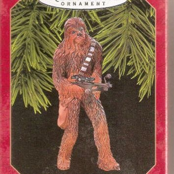 Licensed cool 1999 Hallmark Star Wars Chewbacca Chewie Wookie Keepsake Christmas Ornament NEW