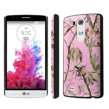 NakedShield LG G3 Vigor / G3 Mini (Pink Hunter Camouflage) SLIM Art Phone Cover Case