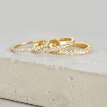 Full Eternity Band - Gold