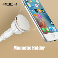ROCK Universal Magnetic Phone Holder Stand for iPhone Samsung Xiaomi Phone Lazy Magnetic Tablet Holder bracket for iPad Mi Pad