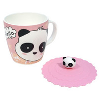 Hello Panda Mug with Rubber Cover | AsianFoodGrocer.com, Shirataki Noodles, Miso Soup