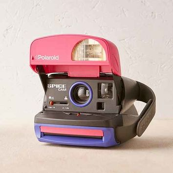 Impossible Project Spice Cam Rare Polaroid Camera
