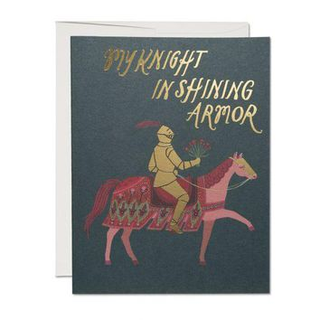 RED CAP CARDS KNIGHT IN SHINING ARMOR CARD