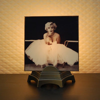 Marilyn Monroe Ballet Night Light by lucylambtail on Etsy