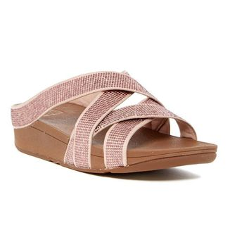 Fitflop Women's Skinny Rocket Slide Sandal