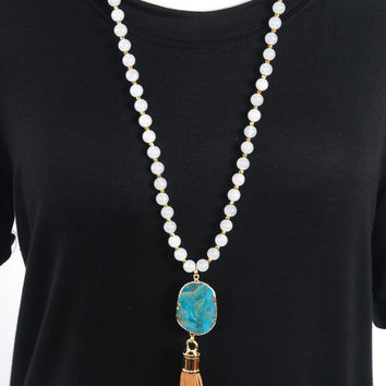 The Jessica Necklace - Clear
