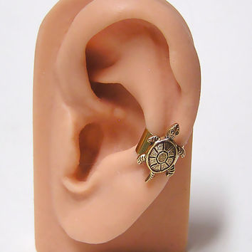 Sea Turtle Ear Cuff