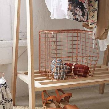 Wire Cubby Basket