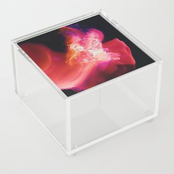 Baby, Hold on to me Acrylic Box by duckyb