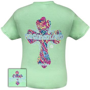 Girlie Girl Originals Preppy So Loved Cross T-Shirt