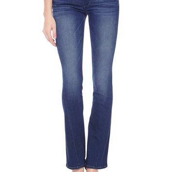 True Religion Becca Mid Rise Bootcut Womens Jean - Crystal