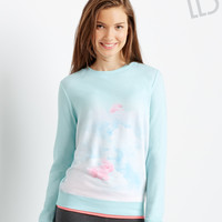 Aeropostale  LLD Long Sleeve Sublimated Polar Bears Sweatshirt