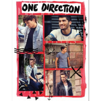 One Direction Doodle Poster