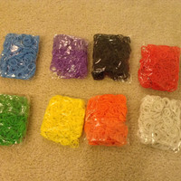 Great Quality 4800 Silicone Loom Bands and 192 S-Clips for Cheap Price