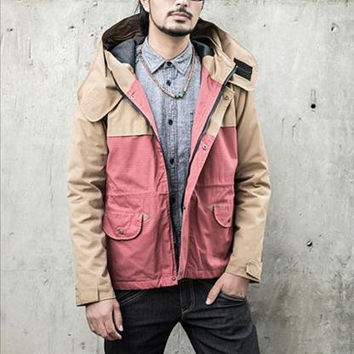 Contract Hooded Jacket (Red)