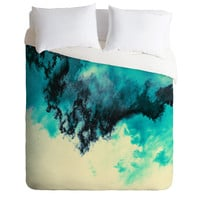 Caleb Troy Painted Clouds V Duvet Cover