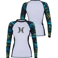 Hurley Women's One and Only Icon Long Sleeve Rash Guard - Dick's Sporting Goods
