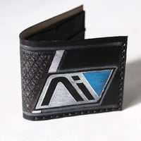 Andromeda Initiative Leather wallet - Mass Effect - Six card slots