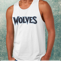 Minnesota Timberwolves Clothing Tank Top For Mens