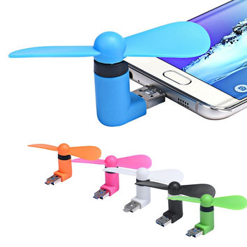 Portable Super Min USB V8 Cooler Cooling Mini Fan for IPhone & Android