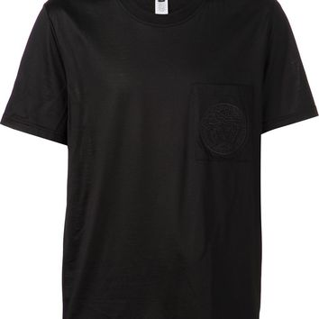 Versace Medusa embroidered pocket T-shirt
