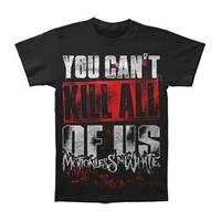 Motionless In White Men's  You Can't Kill All Of Us T-shirt Black Rockabilia