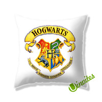 Harry Potter Hogwarts Crest Square Pillow Cover