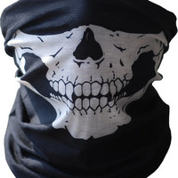 Skull Tubular Mask Balaclava Bandana Motorcycle Scarf Face Neck Warmer GHOSTS Call of Duty Snowboard Skiing