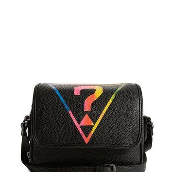 GUESS Originals Rainbow Triangle Logo Crossbody at Guess