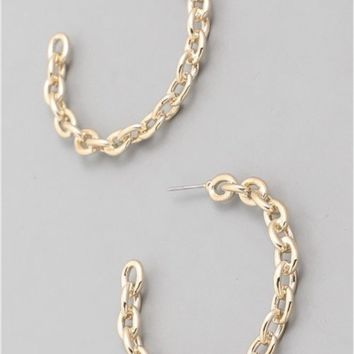 And Lovely Chain Hoops