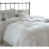 Full/Queen size Down Alternative Microfiber Comforter - Machine Washable