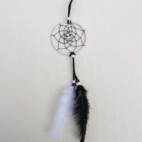 Disney The Nightmare Before Christmas dreamcatcher- small black and white