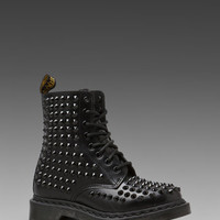 Dr. Martens Spike All Stud 8 Eye Boot in Black from REVOLVEclothing.com