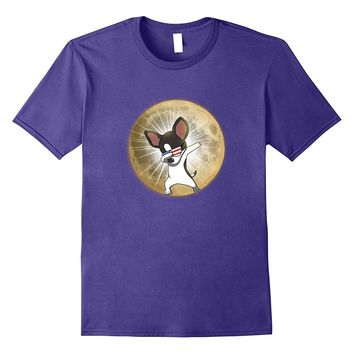 Total Solar Eclipse USA Funny Chihuahua Sun Moon T-shirts