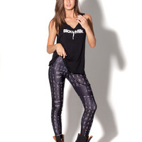 Periodic Table Black Leggings