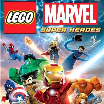 LEGO Marvel Super Heroes - Xbox 360 (Very Good)