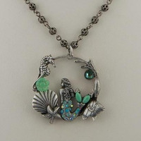 Mermaid Hoop Necklace - Faerie